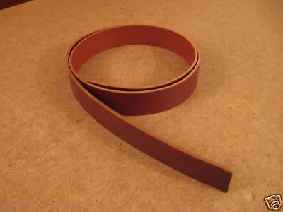 "8/9 oz Chestnut Leather Belt Blank 44""-52"" (Various Widths)"