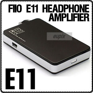 Fiio-E11-PORTABLE-HEADPHONE-AMPLIFIER-3-5mm-USB-CABLE-A