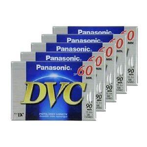 Panasonic-Mini-DV-Digital-Video-Camera-Camcorder-Tape-Cassette-60min-x-5-pcs
