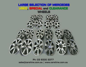 Mercedes-USED-SPECIAL-CLEARANCE-Wheels-Tyres-CHEAP-Second-Hand