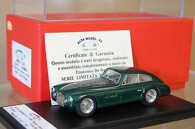 FDS ALFA MODEL 43 1949 ALFA ROMEO 6C 2500 NARDI DANESE 1a SERIES GREEN NEW ar
