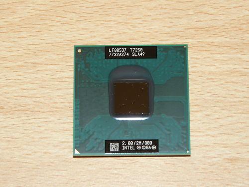 BRAND NEW INTEL CPU Core2Duo T7250 2GHz 2MB 800FSB 35W SLA49