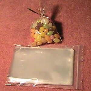 100-3-X-5-CELLO-BAGS-FOR-LOLLIPOP-COOKIE-CRAFT