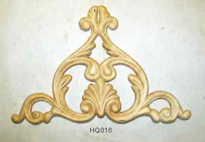 "WOOD EMBOSSED APPLIQUE 6 7/8"" X 10 1/4""  HQ016"