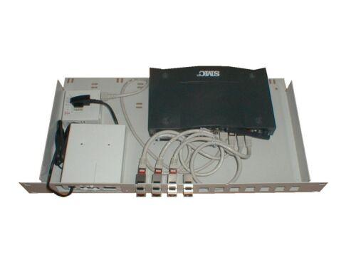 19 Zoll Montagerahmen f. DSL-Router, NTBA + Splitter