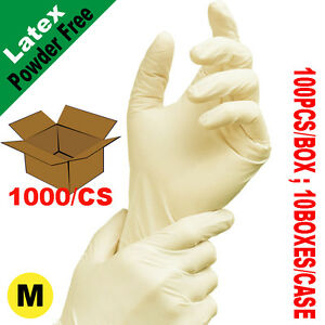 SunnyCare 1000 Latex Disposable Gloves Powder Free ( Vinyl Nitrile Exam Free) M