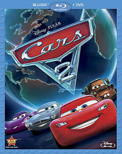 Cars 2 Blu Ray Dvd 2011 2 Disc Set Sealed Never Been Opened