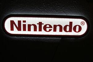 Nintendo Sign wii 3d light up lighted game | eBay