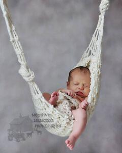 Newborn-Hammock-Cocoon-Baby-Photography-Prop-CREAM-Handmade-0-3months