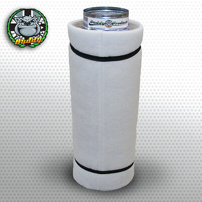 """6"""" Carbon Filter Hydroponics Grow Room Tent For In Line Extractor Fan - 900m3/h"""