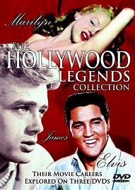 The Hollywood Legends Collection - 3 DVD BOXSET - BRAND NEW SEALED (Z)