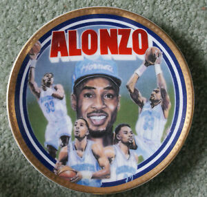 ALONZO-MOURNING-CHARLOTTE-HORNETS-PLATE-SPORTS-IMPRESSIONS