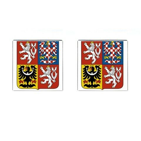 Czech Republic Coat of Arms Cufflinks