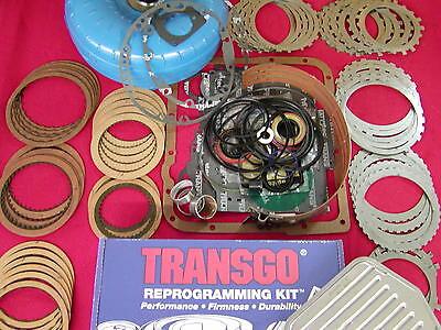 700R4 4L60 PERFORMANCE TRANSMISSION MASTER REBUILD KIT 1982-1984 27 spline input