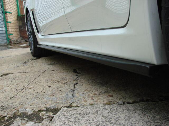 Subaru Impreza WRX STi 08-2011 Side skirt Extensions Hatch & Saloon Bottom Line