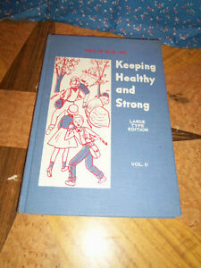 Large-Type-Edition-1959-Health-for-Better-Living-Keeping-Healthy-Strong-Vol-2
