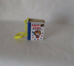 Sanrio-Coro-Chan-Miniature-Key-Chain-Phone-Book-Collectible-Vintage-1976-New