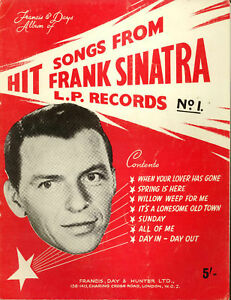 Hit-Songs-From-Frank-Sinatra-1960-Sheet-Music-Book
