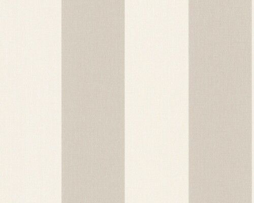 TOP Beige Streifen Tapete AS Vliestapete Elegance *NEU 1790-36