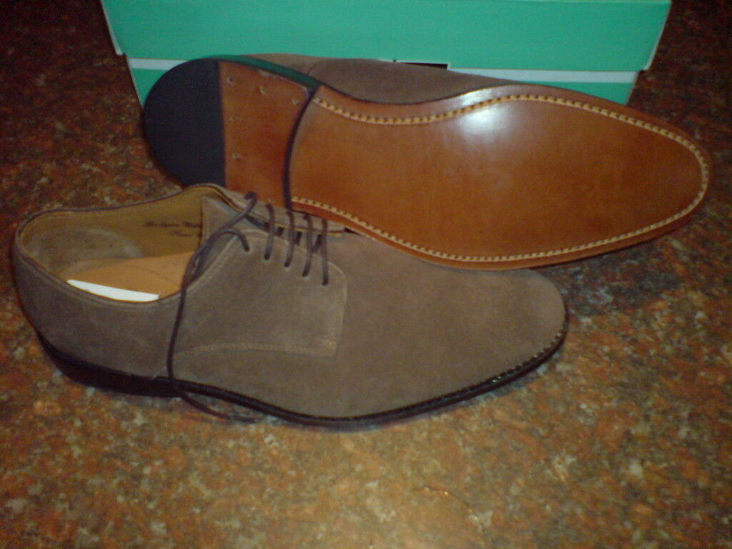 New Clarks Mens HAND CRAFTED FORMAL Shoe SUEDE UK 8.5 / true 9