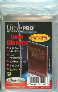 ULTRA-PRO-100-TRADING-CARD-SLEEVES-STANDARD-SIZE-DECK-PROTECTORS-POKEMON-MTG