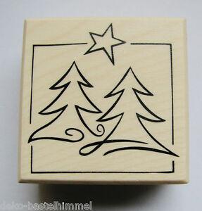 Weihnacht stempel tannenbaum stern embossing - Weihnachtskarten kreativ ...