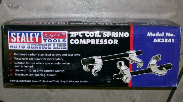 MARKDOWN SALE! 2 PIECE CAR VAN COIL SPRING COMPRESSOR TOOL KIT * WITH WARRANTY *