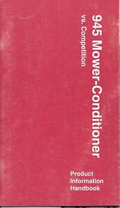1996-John-Deere-945-Mower-Conditioner-Competition-Book