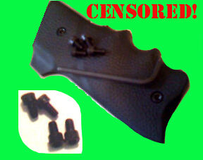 Black-Hex-Grip-Screws-Ruger-Mark-I-II-III-MK-1-2-3