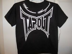Tapout-MMA-Black-Short-Sleeve-Shirt-Boys-Size-4-NWT-4