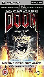 Doom-Extended-Edition-Sony-PSP-UMD-Film-FREE-UK-POSTAGE