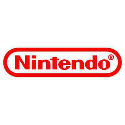 Nintendo games console car Sticker 150mm