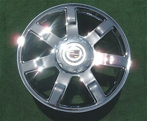 NEW-2010-2011-2012-Cadillac-Escalade-Chrome-22-inch-EXACT-OEM-Spec-WHEEL-5309