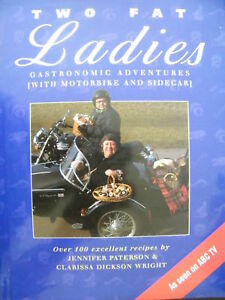 Two-Fat-Ladies-Jennifer-Paterson-Clarissa-Dickson-Wright-Hardcover-Cookbook