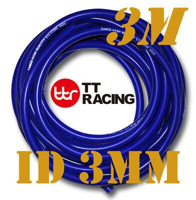 "3mm 1/8"" 0.12"" Silicone Vacuum Tube Hose Silicon Tubing 3M 10FT"
