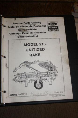 New Holland 216 Rake
