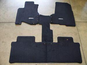 Genuine Oem 2005 2006 Honda Cr V Black Carpet Floor Mats