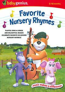 Image Is Loading Baby Genius Favorite Nursery Rhymes Dvd 2010 Disc
