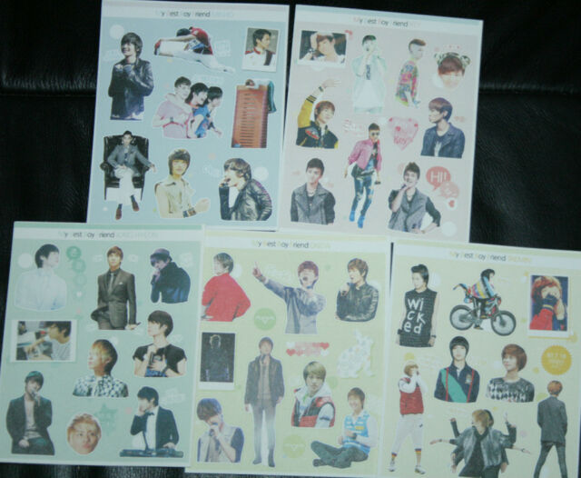 shinee sticker stickers taemin onew jonghyun key minho