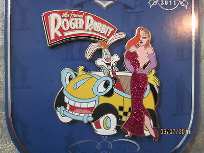 Disney Legacy Roger and Jessica Rabbit pin LE 250
