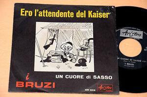 I-BRUZI-7-034-45-ERO-L-039-ATTENDENTE-DEL-KAISER-1-ST-ITALY-BEAT-1967-COLLEZIONISTI-EX
