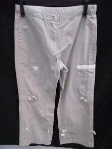 BNWOT-Boys-Sz-8-Timberland-Smart-Pale-Grey-Cargo-Style-Long-Pants-RRP-120