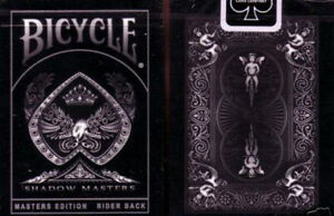 Shadow Masters Ellusionist Deck Black Bicycle Playing