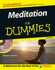 Meditation For Dummies by Stephan Bodian (Paperback, 2006)
