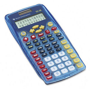 texas instruments ti 15 scientific calculator ebay