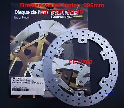 Bremsscheibe hinten Honda GL 1500, GL1500 Goldwing, 88-89, FE H702, brake disc