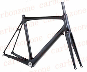 New-3k-full-Carbon-Road-bike-Frame-amp-Fork-headset-53cm
