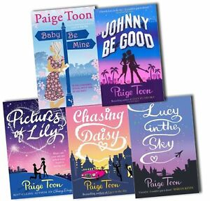 Paige-Toon-Collection-5-Books-Set-Pack-Baby-Be-Mine-New