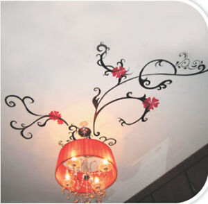 Ceiling-Flow-Wall-Stickers-Decal-art-Mural-Decor-Paper
