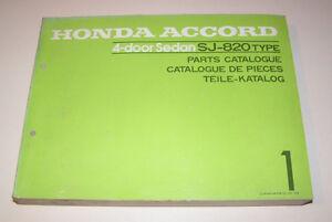 Teilekatalog-Honda-Accord-1600-Sedan-4-Tuerer-Stand-1978